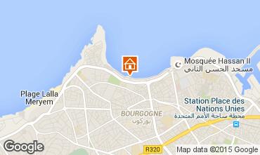 Map Casablanca Apartment 9024