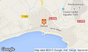 Map Salou Apartment 9658