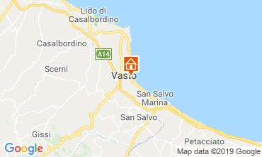 Map Vasto Apartment 43596