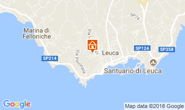 Map Santa Maria di Leuca Apartment 114748