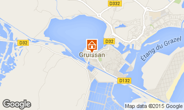 Map Gruissan Apartment 6306