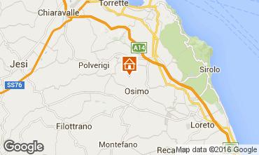 Map Osimo Villa 71799