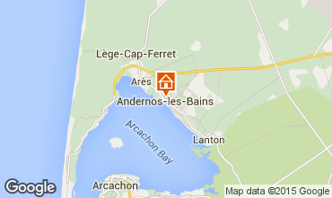 Map Andernos les Bains Apartment 62761