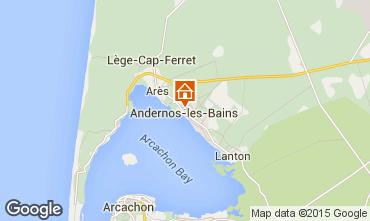 Map Andernos les Bains Apartment 62761