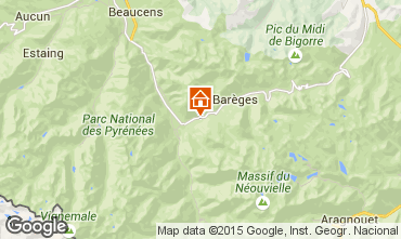 Map Luz Saint Sauveur Bed and breakfast 97074