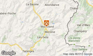 Map Morzine Chalet 1962