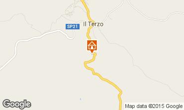 Map Roccastrada Villa 55549