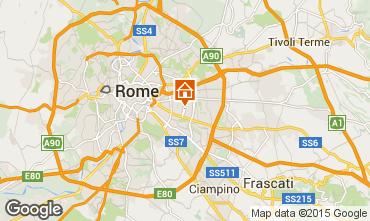 Map Rome Apartment 93447