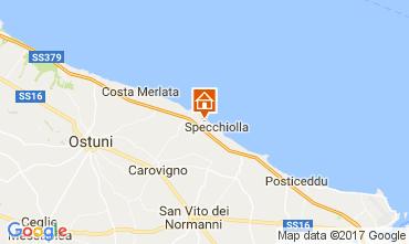 Map Ostuni Villa 109272