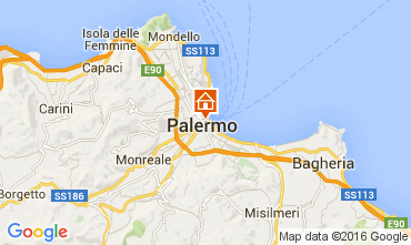 Map Palermo Apartment 103698