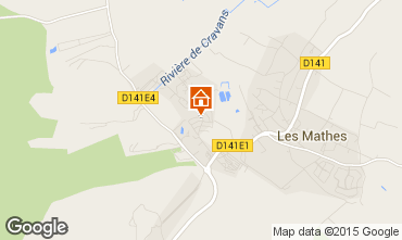 Map Les Mathes Mobile home 96192