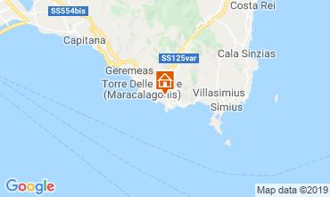 Map Solanas Villa 119825