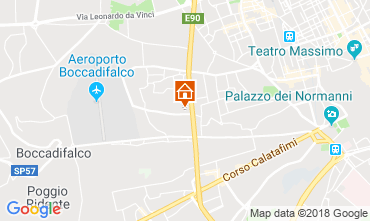 Map Palermo One-room apartment 56253