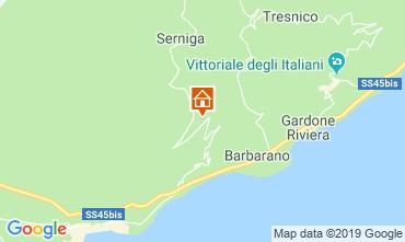 Map Salò Vacation rental 17696