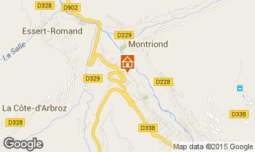 Map Morzine Chalet 21894