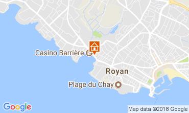 Map Royan Apartment 93351