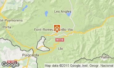 Map Font Romeu Apartment 4175