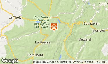Map La Bresse Hohneck House 4529