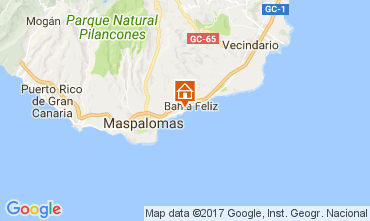 Map Maspalomas Apartment 111198