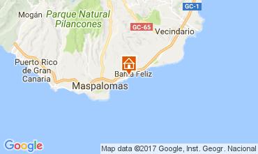 Map Maspalomas Apartment 111198