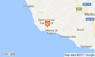 Map Marina di Ragusa Apartment 109156