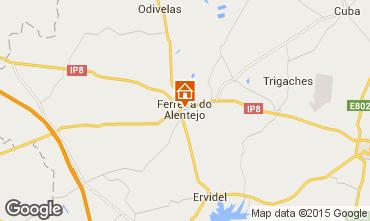Map Ferreira do Alentejo Vacation rental 99488