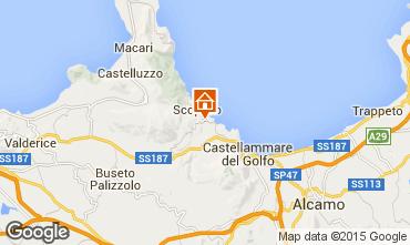 Map Castellammare del Golfo Villa 63583
