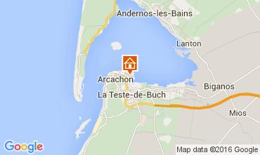 Map Arcachon House 106021