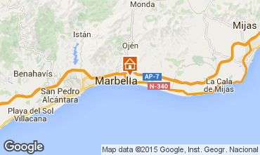 Map Marbella Villa 78085