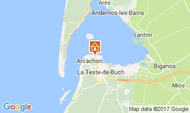 Map Arcachon Apartment 109172