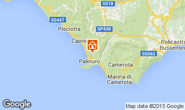 Map Palinuro Apartment 69593