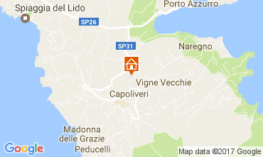 Map Capoliveri Apartment 109213
