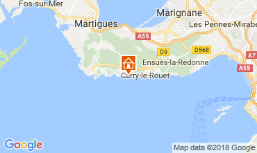 Map Sausset Les Pins Apartment 113510