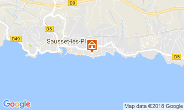 Map Sausset Les Pins Apartment 113510