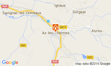Map Ax Les Thermes Apartment 68456
