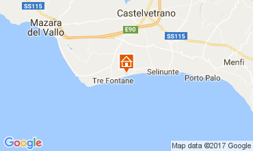 Map Tre Fontane Apartment 107968