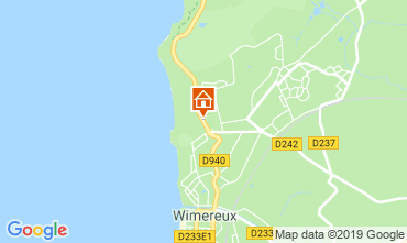Map Wimereux Apartment 19715