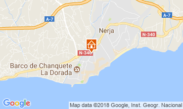 Map Nerja One-room apartment 115902