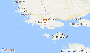 Map Trogir House 112576