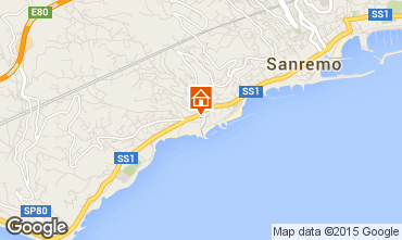 Map Sanremo Apartment 41613