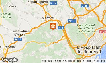 Map Barcelona Villa 85228