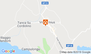 Map Villasimius House 119003