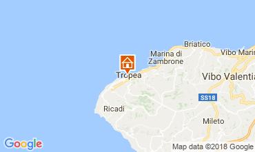 Map Tropea Apartment 113270
