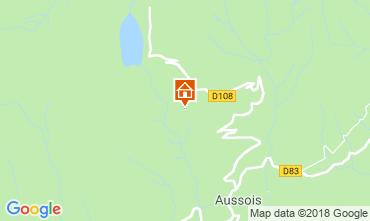 Map Aussois Apartment 38700