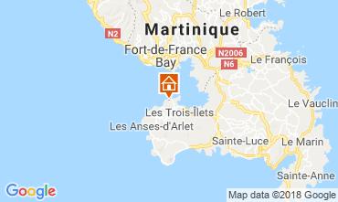 Map Trois Ilets Apartment 116795