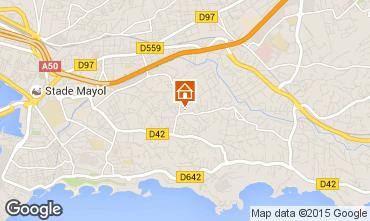 Map Toulon House 89067