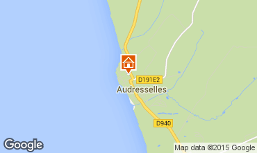 Map Audresselles Apartment 75246