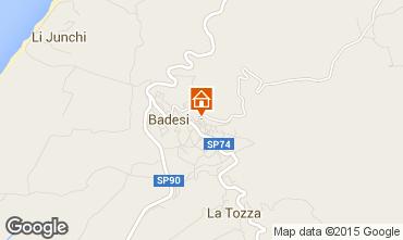 Map Badesi Apartment 33840