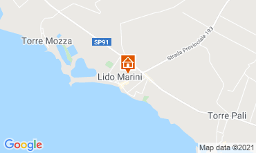 Map Lido Marini House 85090