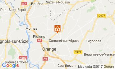 Map Orange Vacation rental 112418